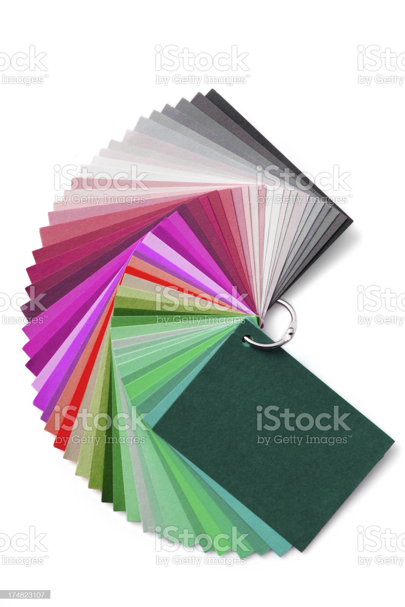 Colour chart royalty-free stock photo