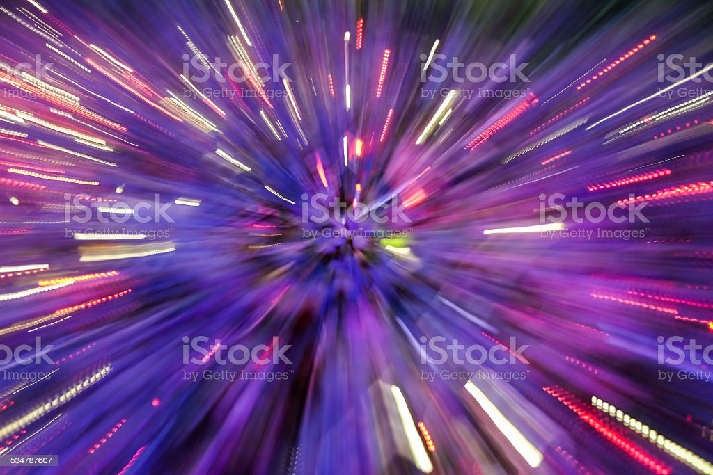 colour light zoom in stock photo