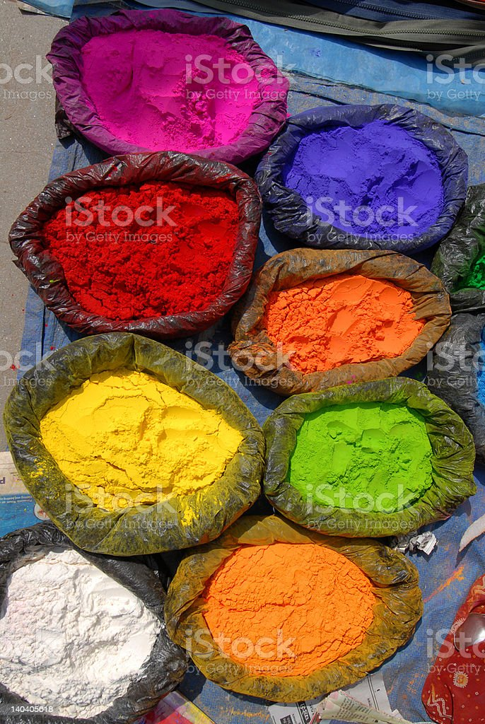 colour of nepal royalty-free stock photo
