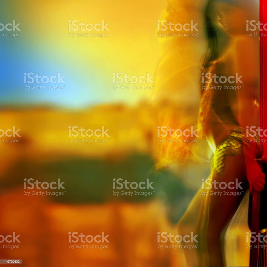Colour of passion. royalty-free stock photo