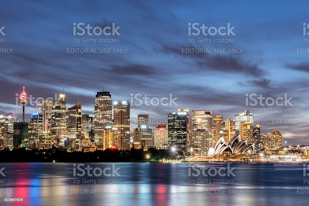 Colour of SYD. stock photo