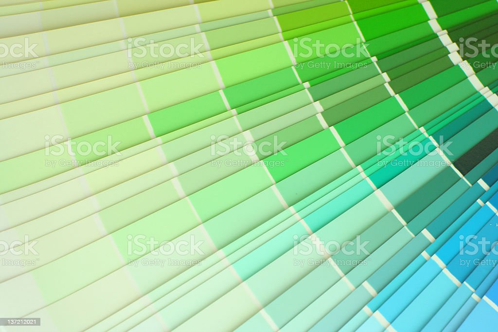 Colour palette royalty-free stock photo