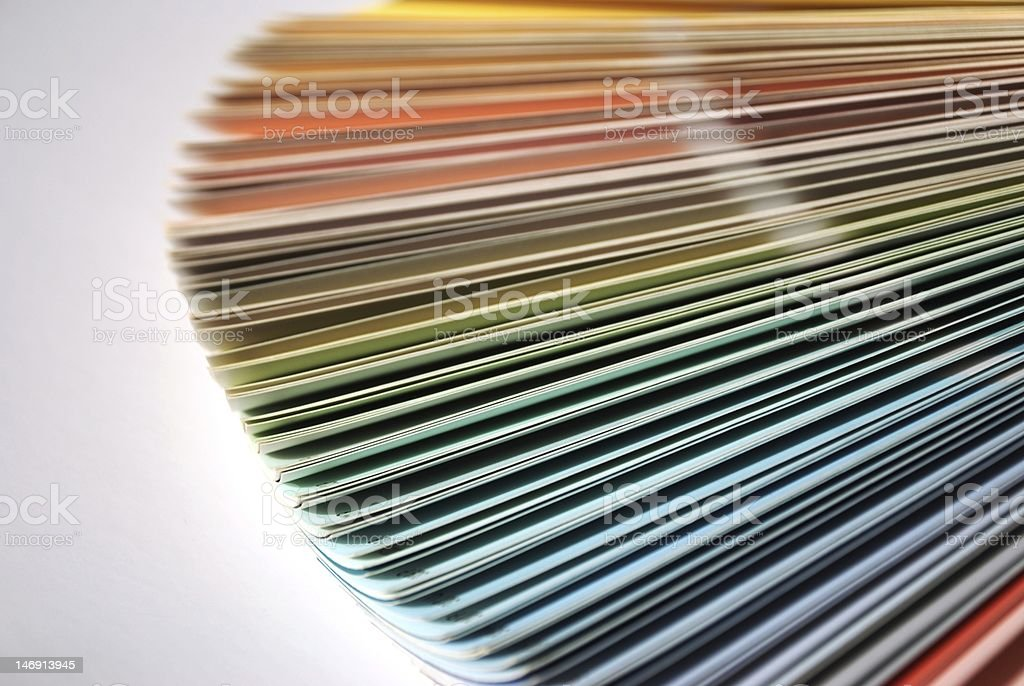 Colour royalty-free stock photo