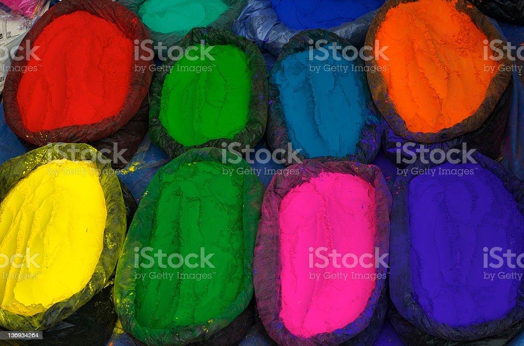 Colour Pigment stock photo