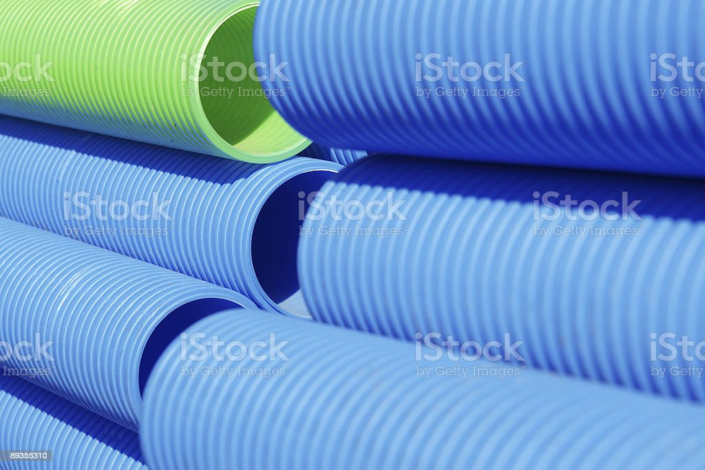 Colour pipes background stock photo