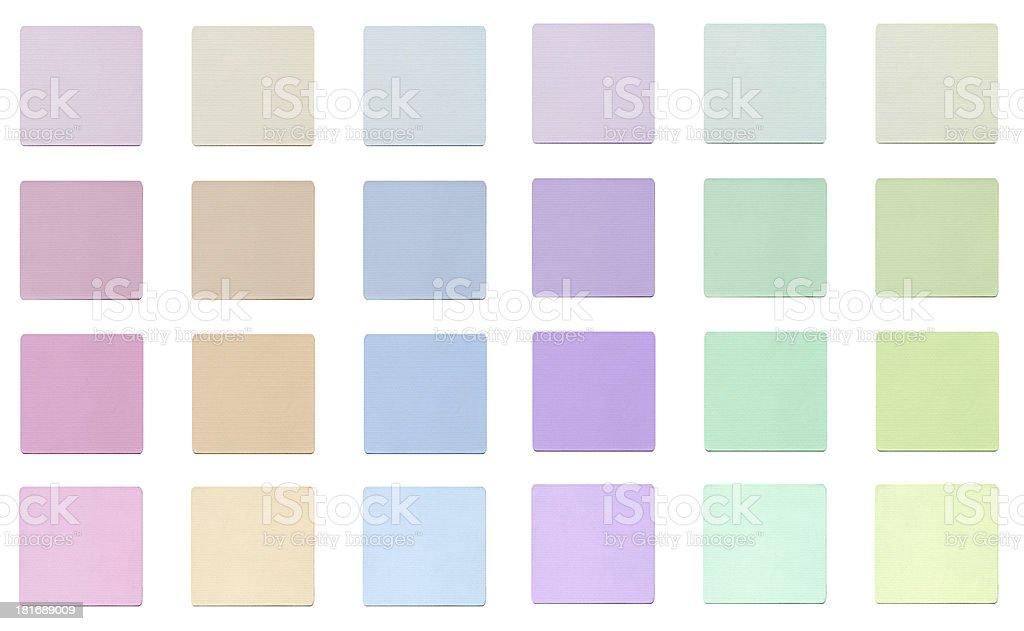 Colour sample stock photo