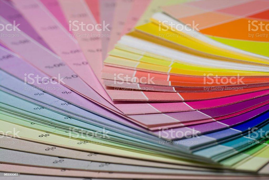 Colour scale macro royalty-free stock photo