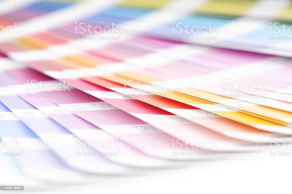 Colour strips royalty-free stock photo