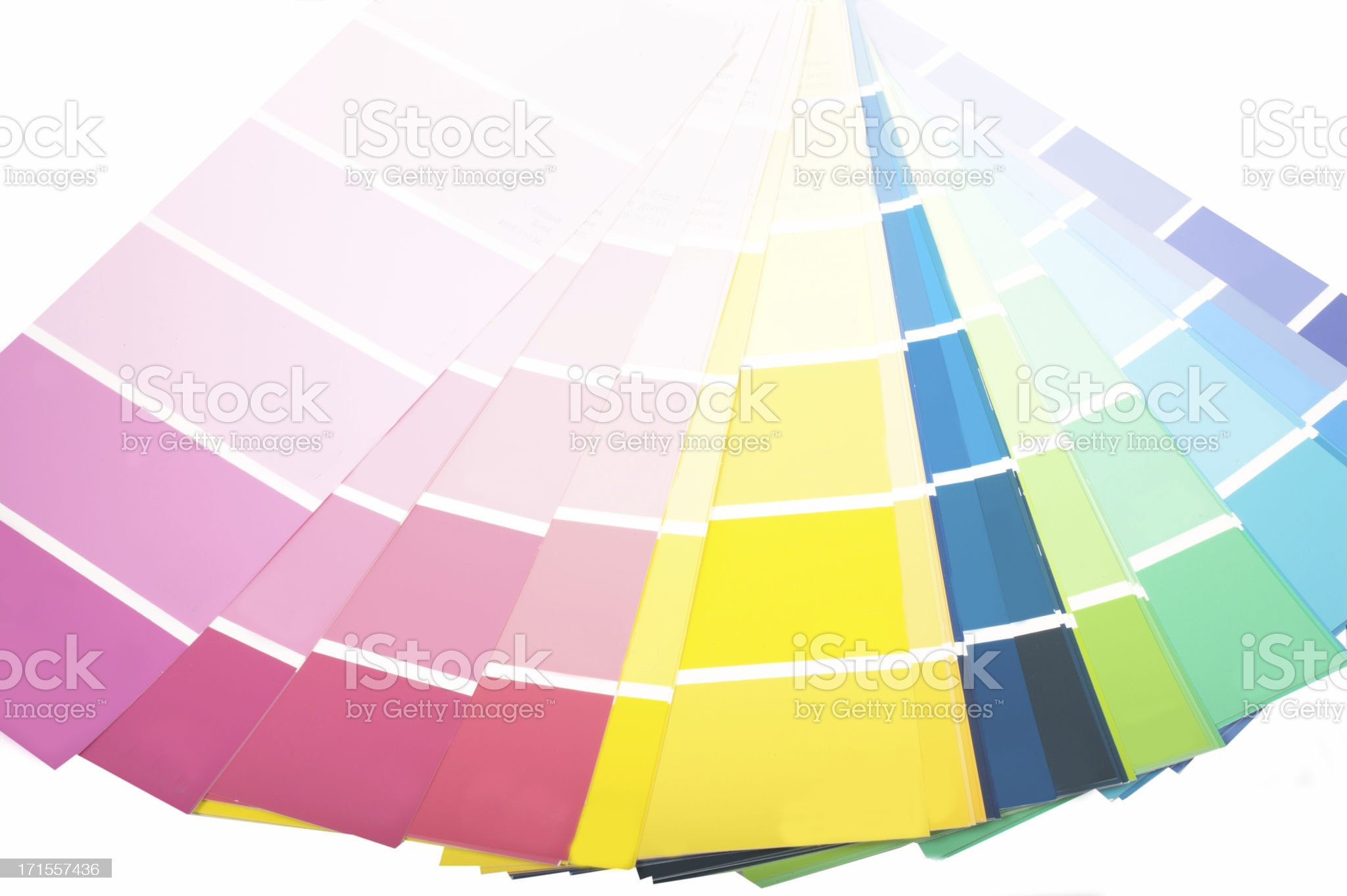 Colour swatches royalty-free stock photo
