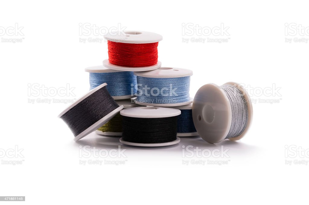 colour threads royalty-free stock photo