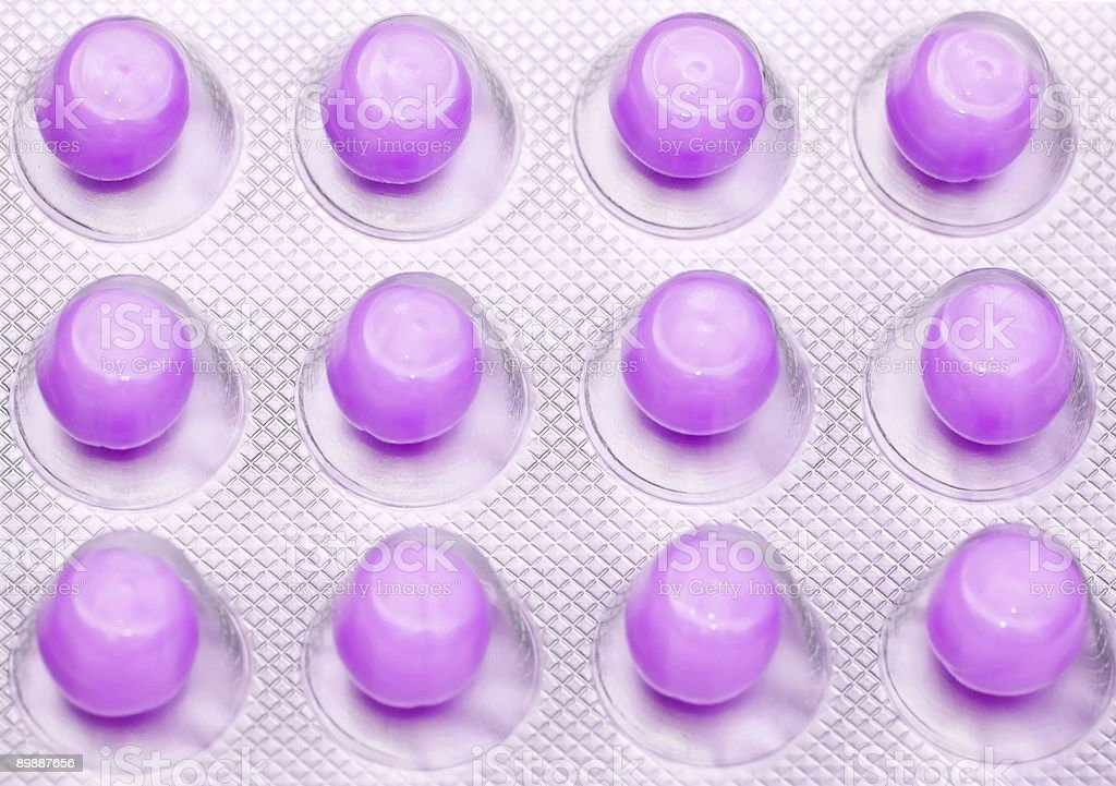 coloured medical pills royalty-free stock photo