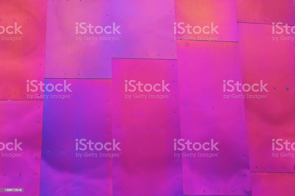 Coloured Metal royalty-free stock photo