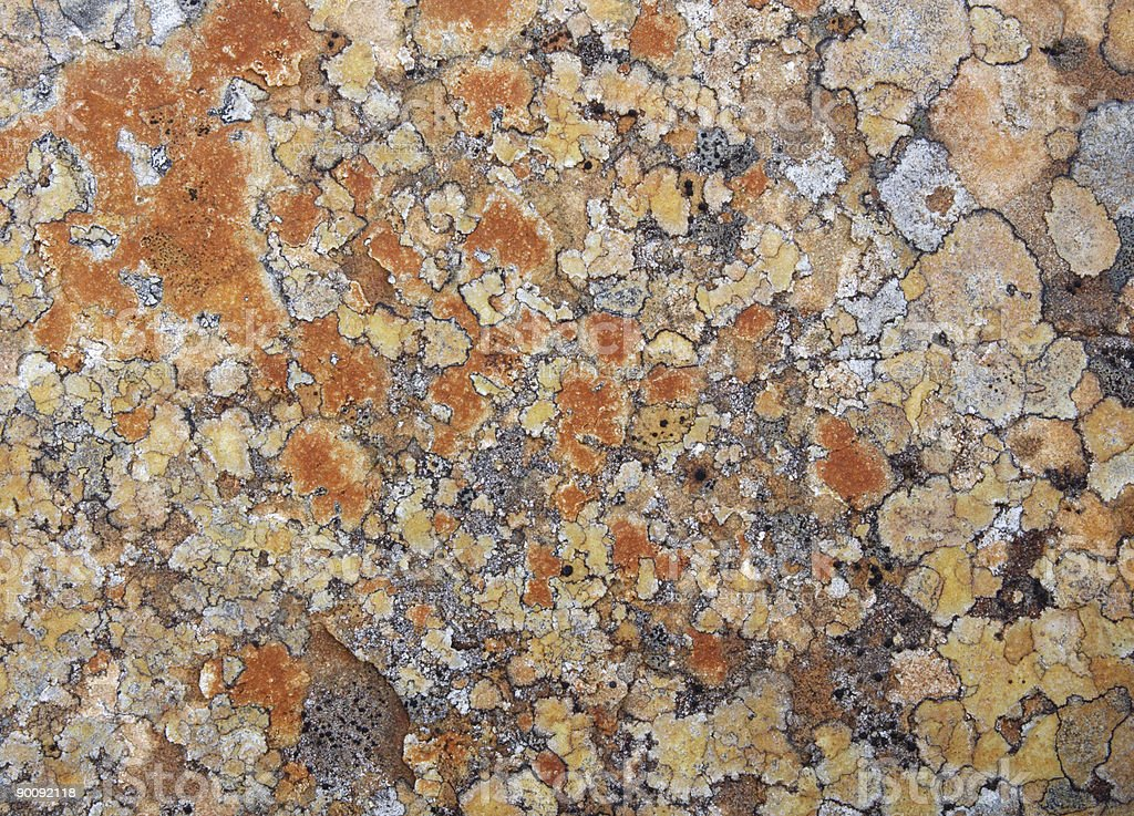 Coloured Rock Patterns stock photo