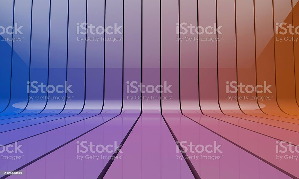 Colourful 3D stripe background stock photo
