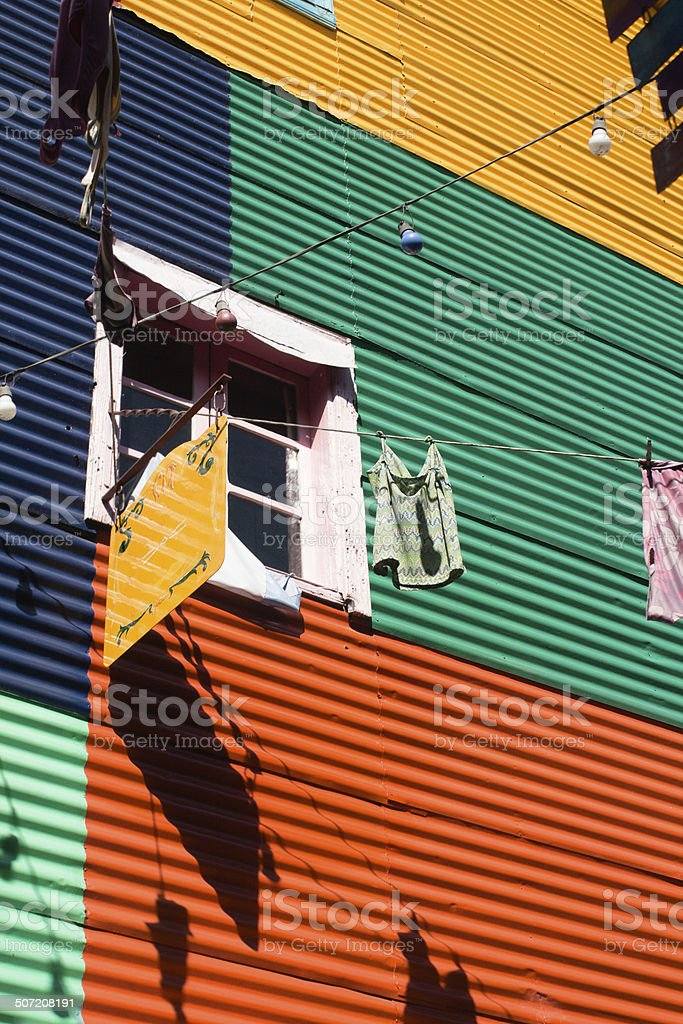 Colourful Argentinian Architecture royalty-free stock photo