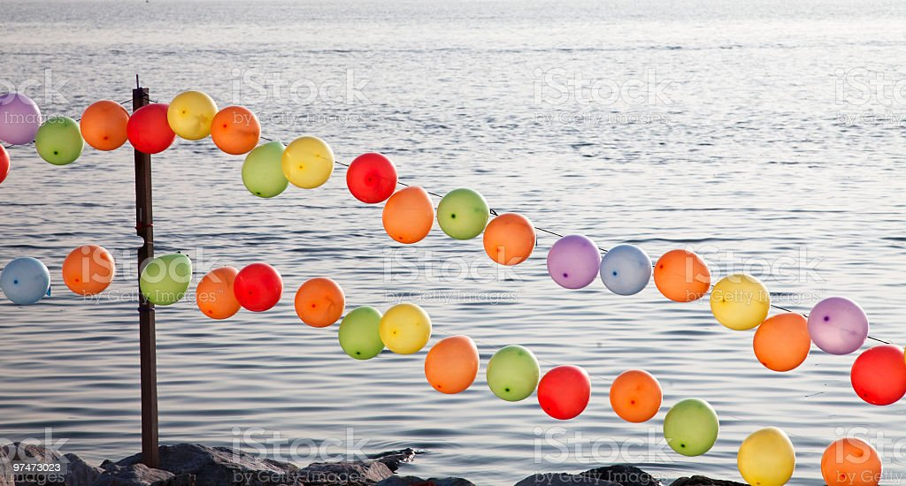 Colourful Ballons royalty-free stock photo