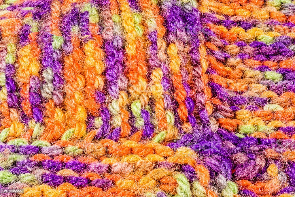 Colourful blanket stock photo