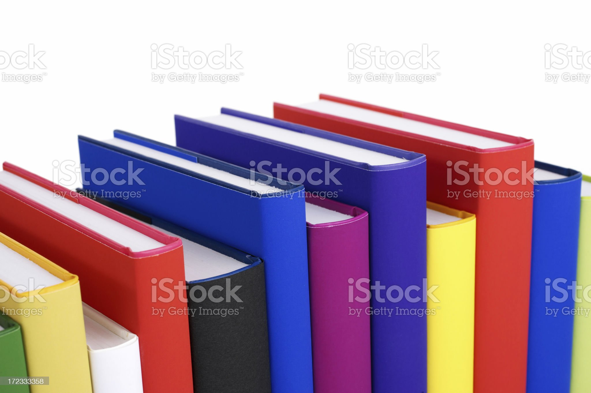 Colourful Books royalty-free stock photo