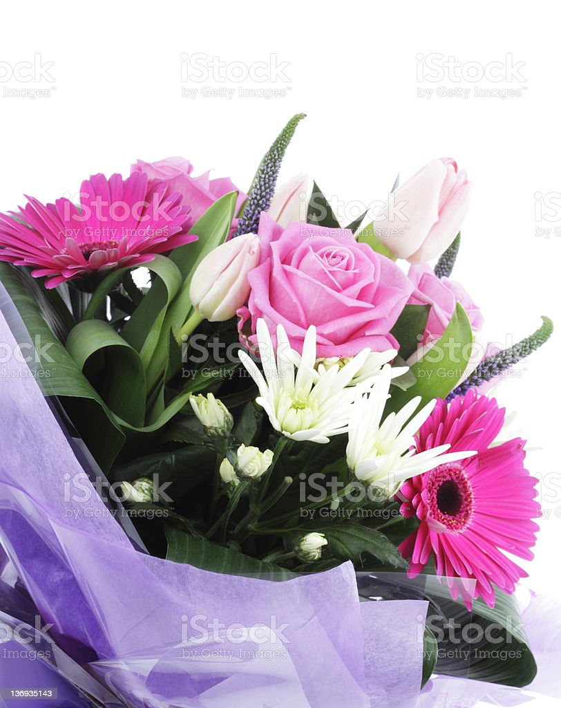Colourful Bouquet royalty-free stock photo