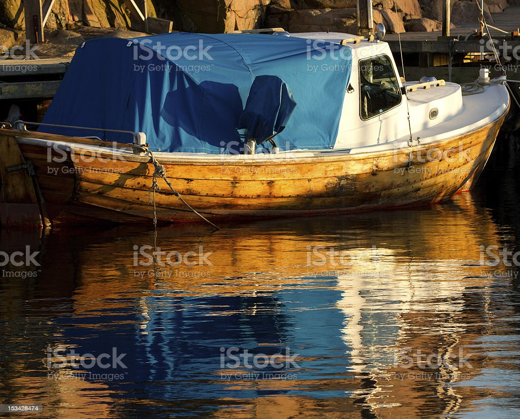 Colourful Fishing Boat stock photo