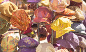 colourful funky soft hats