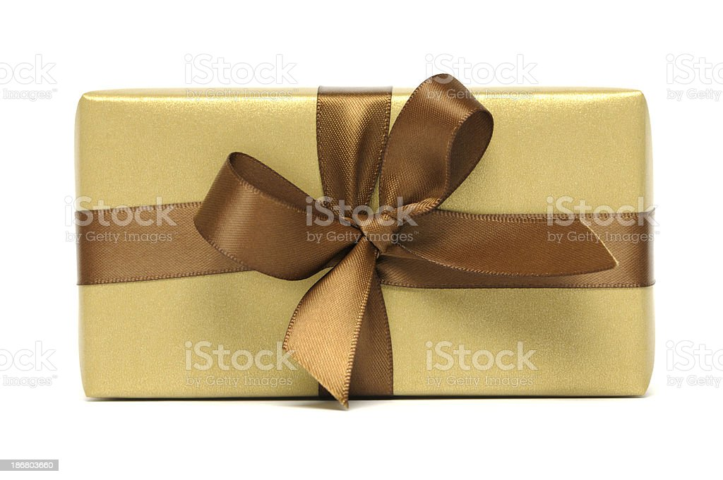 Colourful gift royalty-free stock photo