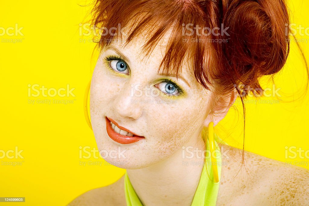Colourful Girl stock photo