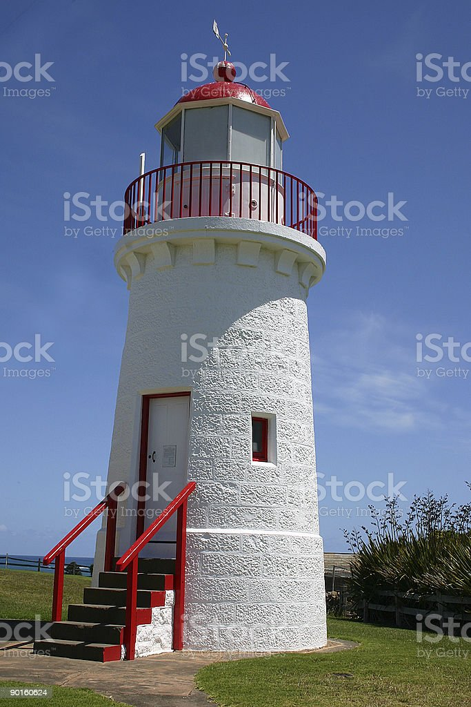 Colourful Lighthouse royalty-free stock photo
