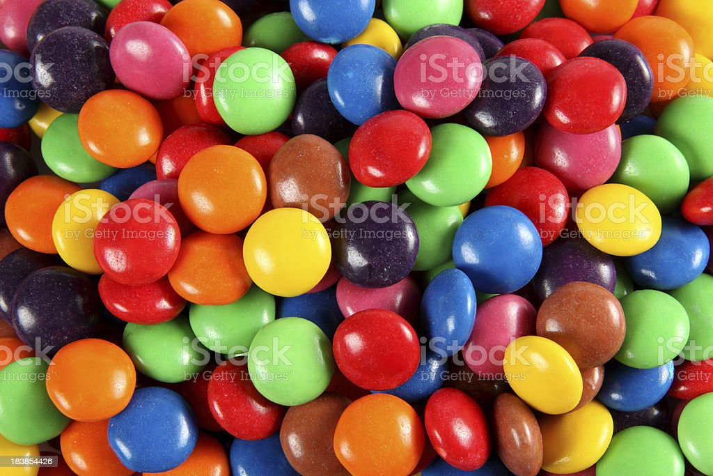 Colourful Lollies royalty-free stock photo