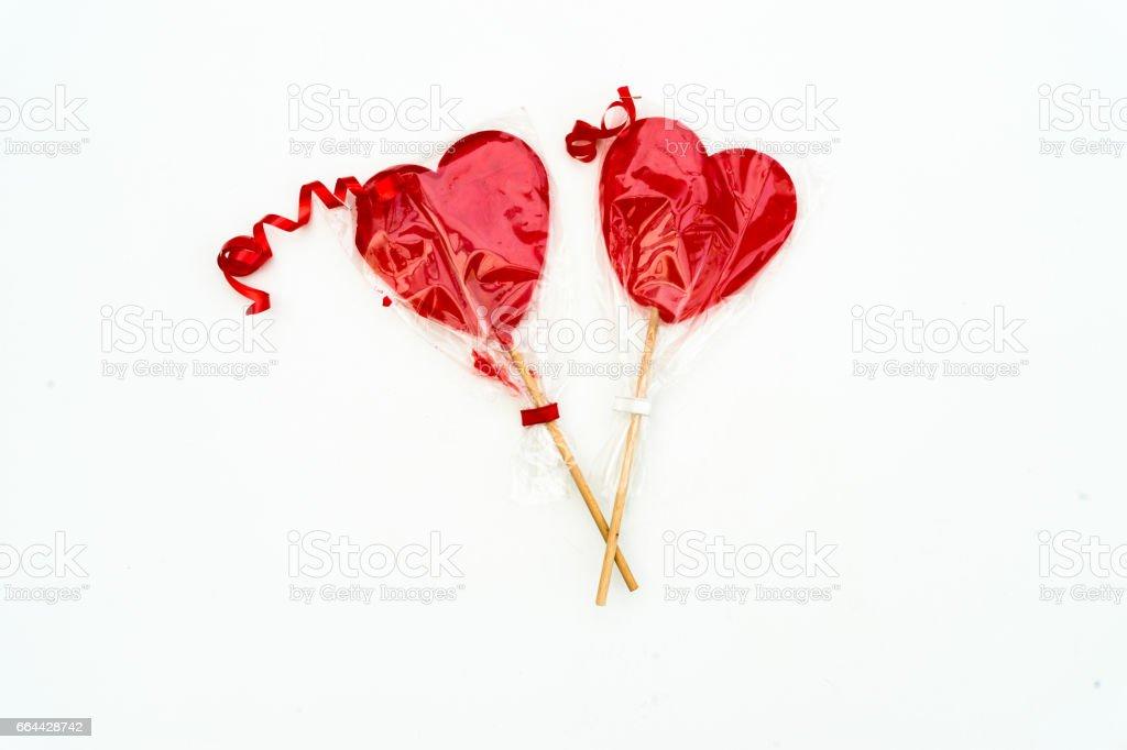Colourful lollipop stock photo