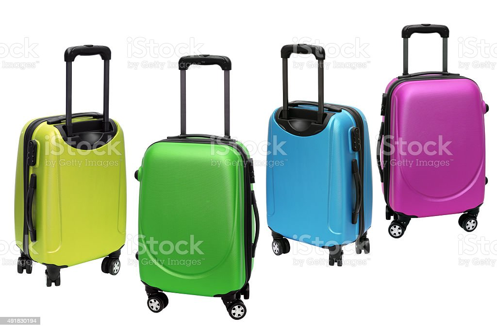 Colourful Luggage stock photo