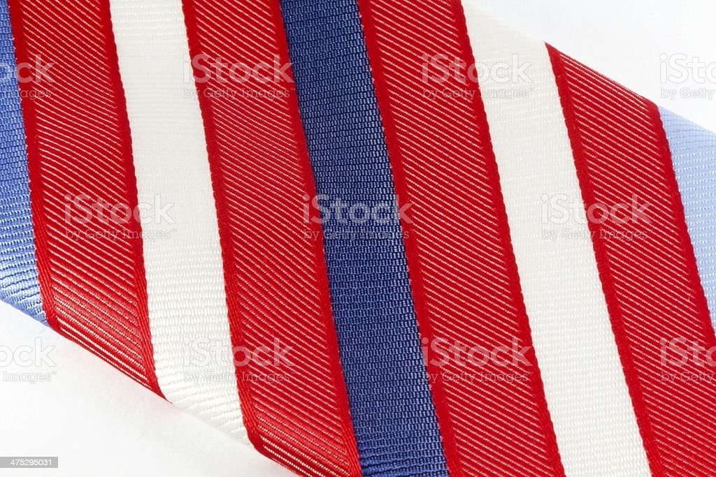 Colourful man tie royalty-free stock photo