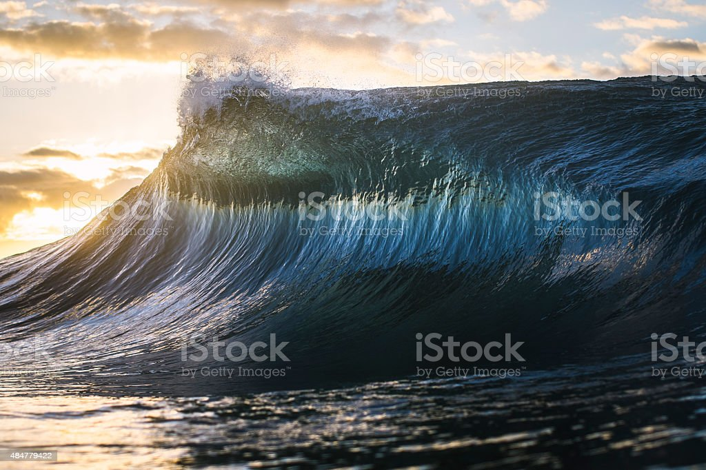 Colourful Ocean Peak stock photo