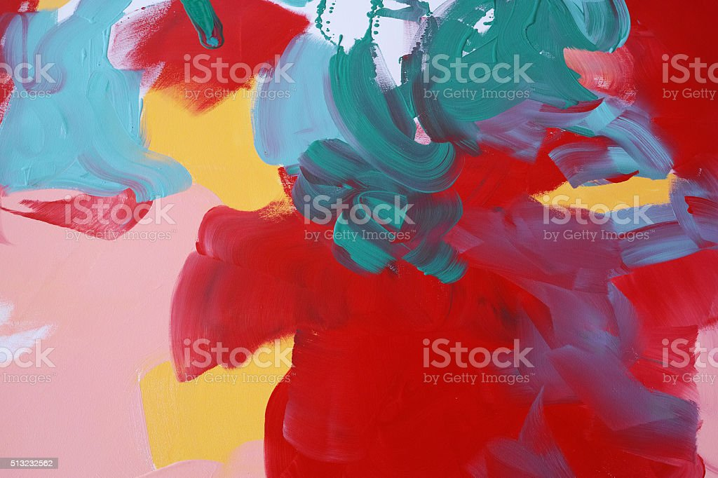 Colourful Painted Background Texture stock photo