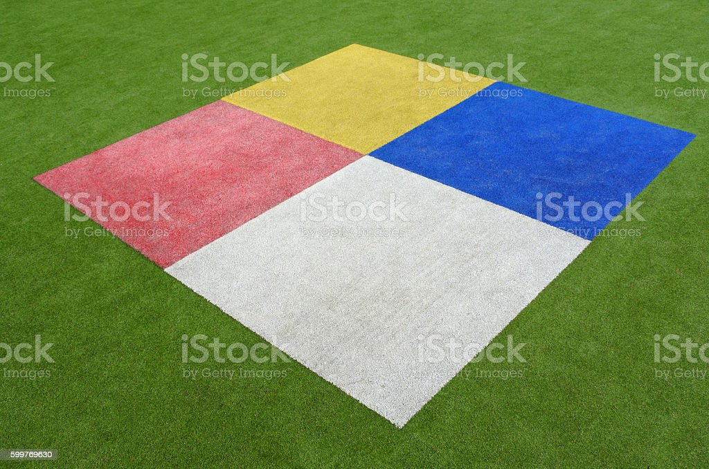 Colourful rectangles background stock photo