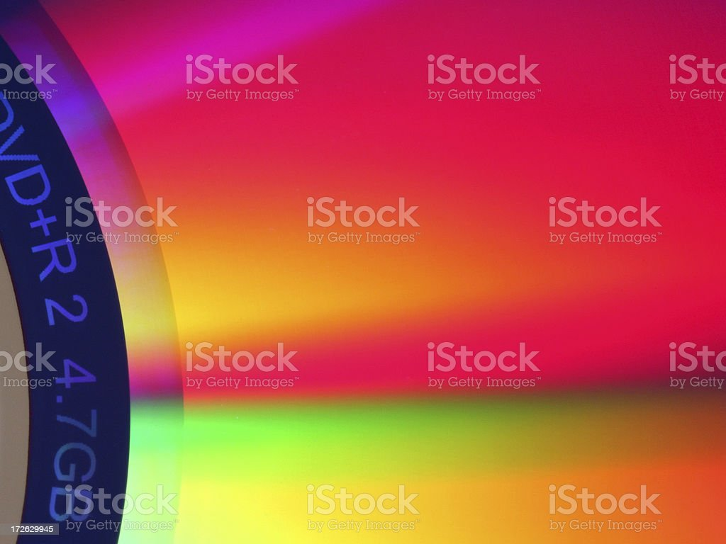 Colourful reflections stock photo
