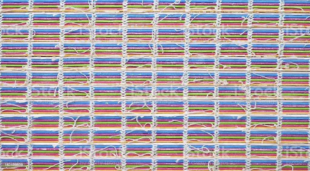 Colourful Sewn Book Blocks... royalty-free stock photo
