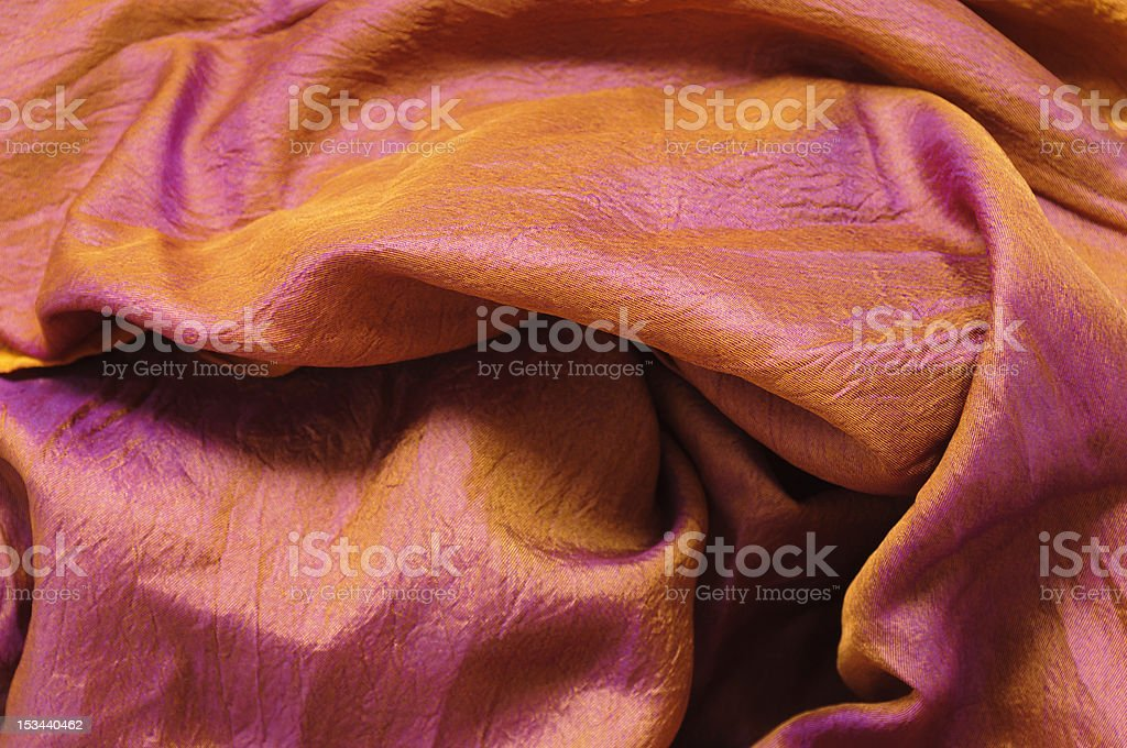 Colourful silk royalty-free stock photo