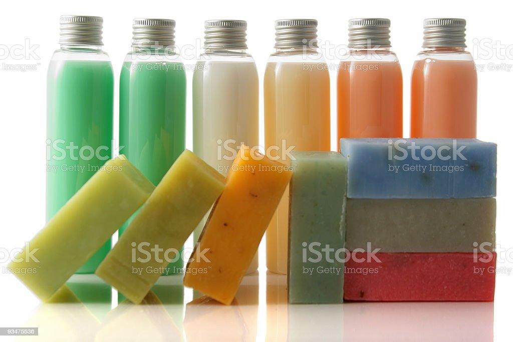 Colourful soap stock photo