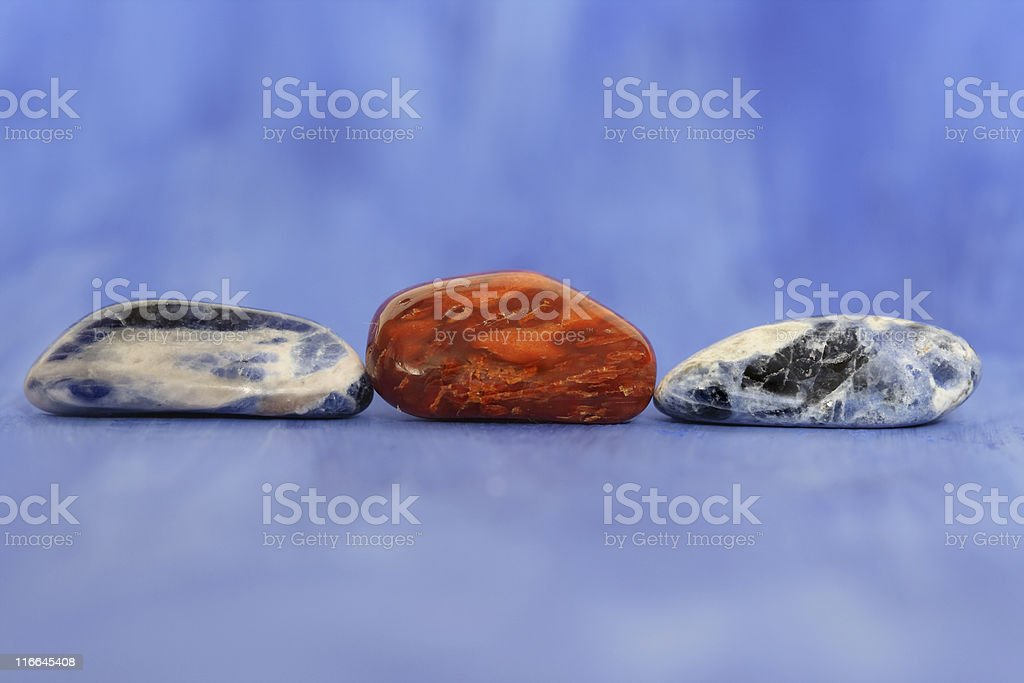 Colourful Stones royalty-free stock photo