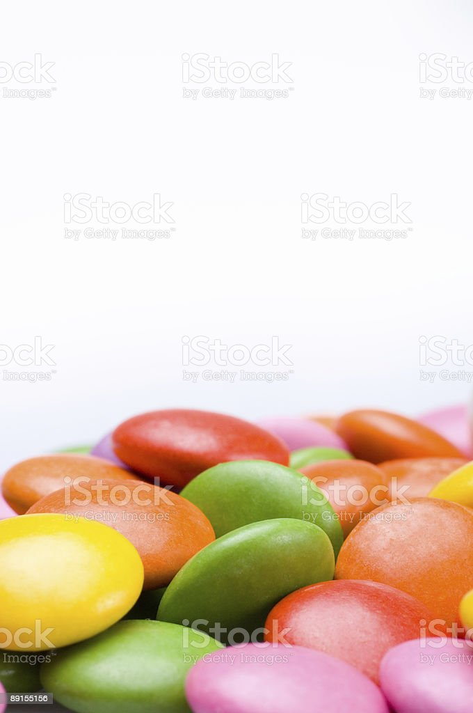 Colourful sweets royalty-free stock photo
