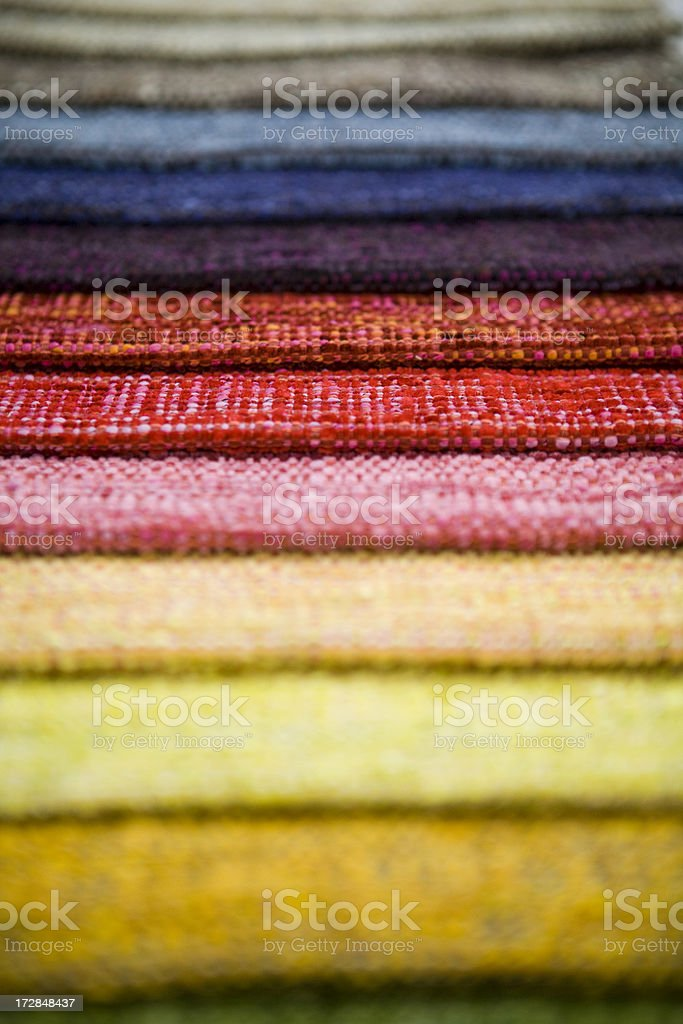 Colourful tissue stock photo