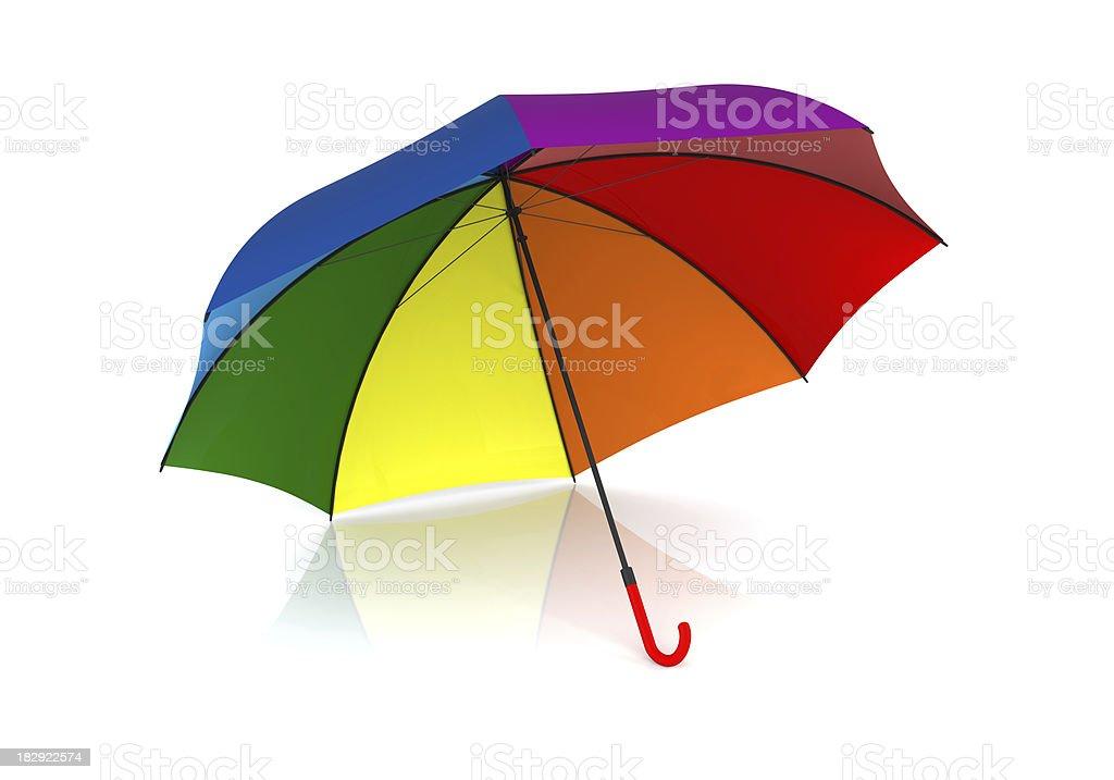 Colourful Umbrella royalty-free stock photo