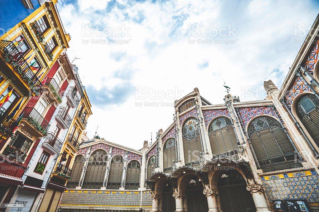 Colourful Valencia. royalty-free stock photo