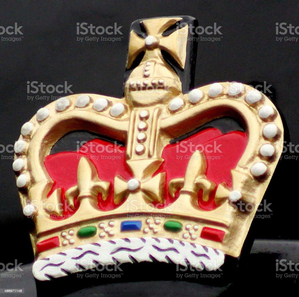 Colourfull Crown stock photo