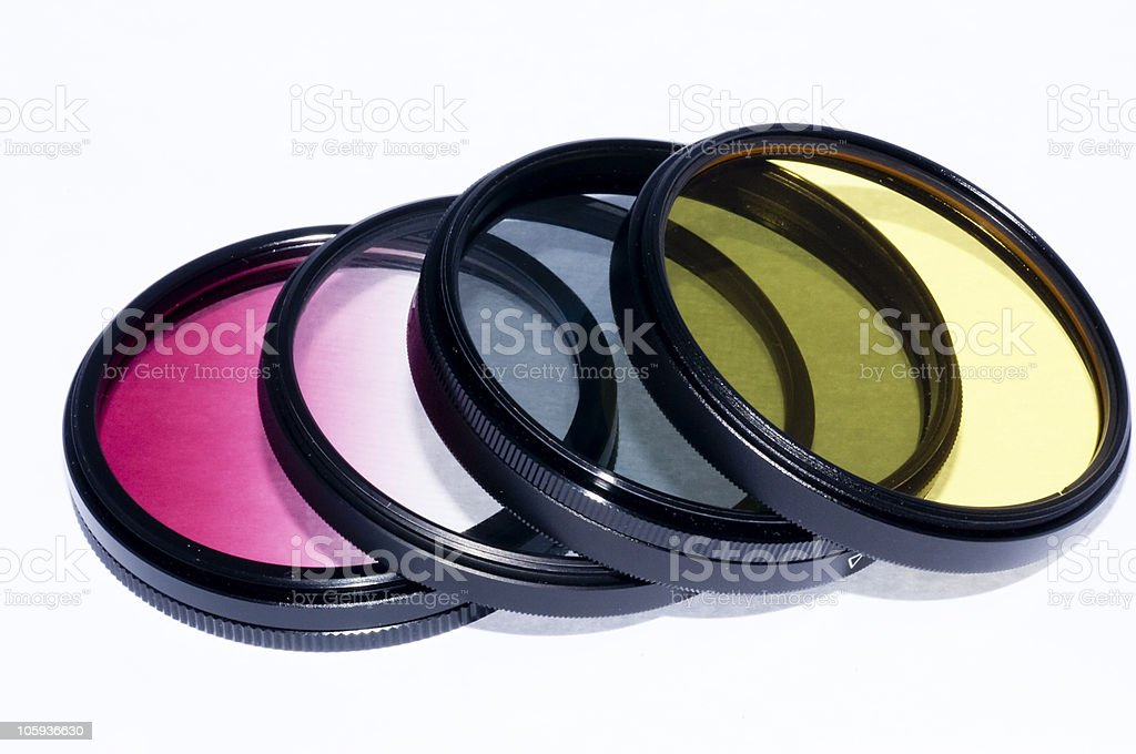 Colourless filter royalty-free stock photo