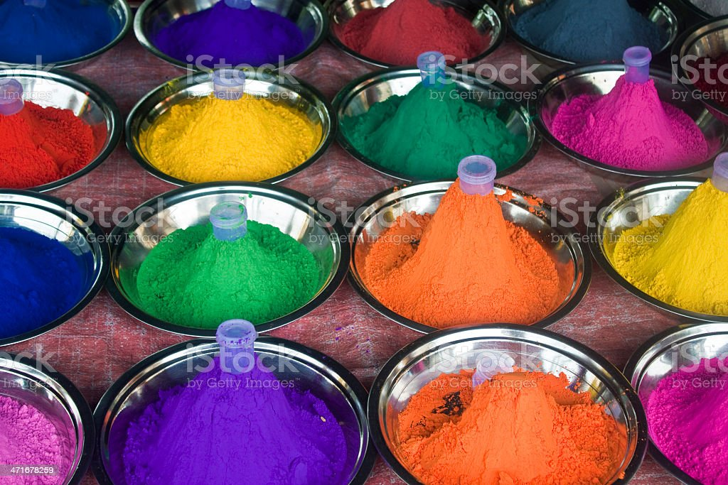 Colours for make up royalty-free stock photo