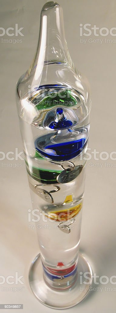 colours inside a cylinder royalty-free stock photo