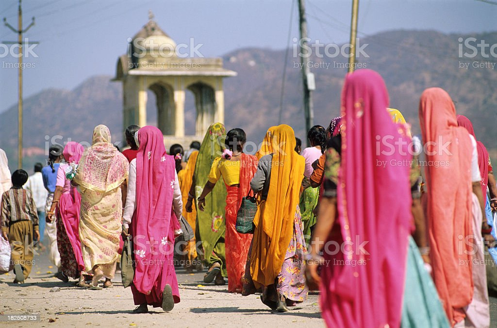 Colours of India royalty-free stock photo