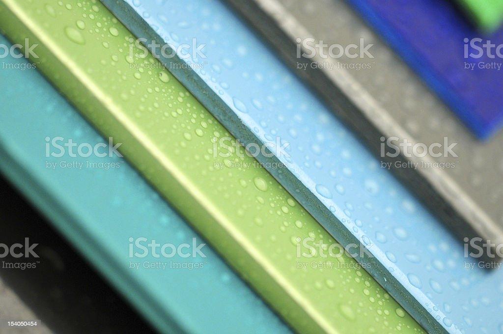 Colours of the plastic II. stock photo